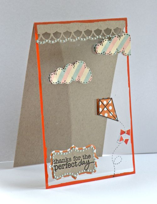 Perfect Day Card by Pinky