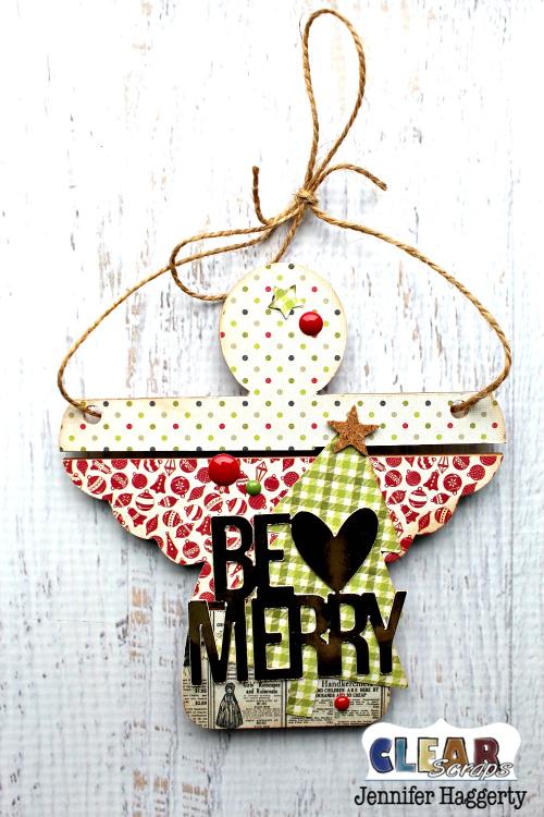 Angel Mini Pallet Shape Ornament