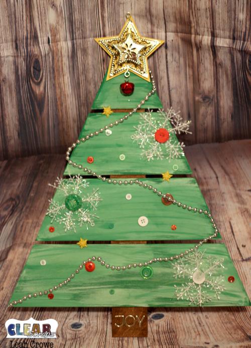 Christmas Tree Wood DIY Pallet Shape