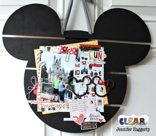 Mouse DIY Pallet Shape