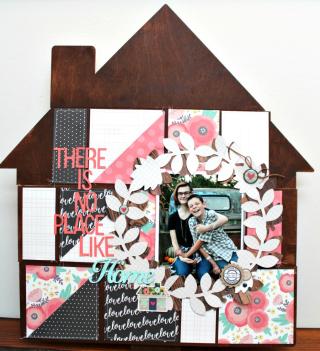 No Place Like Home Wood Home Decor