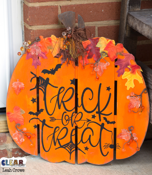 Pumpkin Wood DIY Pallet Shape