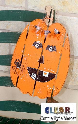 Tall Pumpkin Wood DIY Pallet Shape