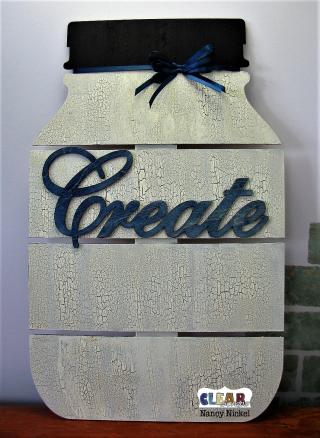 Create Mason Jar Pallet