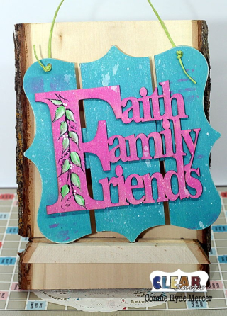 Faith Family Friends Pallet