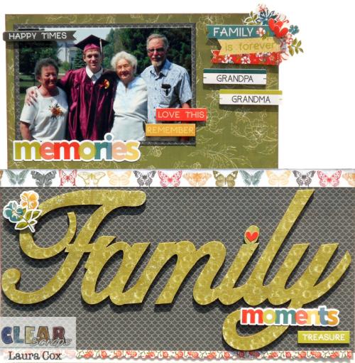 Family Acrylic Layout