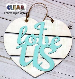 I  Love Us Heart Pallet