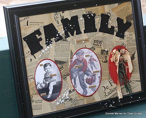 Framed Family Home Decor